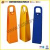 Customized Wine Bottle Carrier Case For Single Bottle Leather Wine Bottle Holder