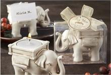 L'elefante candele a forma di candele a forma di animale