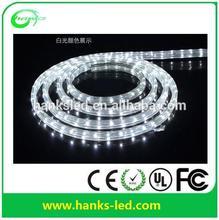 3 wires Flat led rope lighting 2m per cutting led light swimming pool rope light