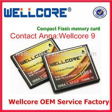 2014 China Wellcore Popular Photo Viewer Cf Card 128gb Compact Flash 1100x Digital Memory Card 128gb !