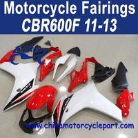 2011-2013 For HONDA CBR600f Fribest Fairing Red White Oem FFKHD037