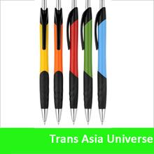Hot selling Cheap advertisement ball pens plastic silver ball pen
