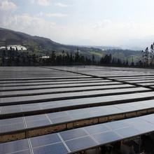 Bluesun pas cher prix usine stock 250 w 30 v polycristallin solaire panneaux de carbone bleu