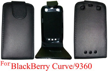 flip case for Blackberry 9360 leather case phone accessory