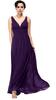 2015 summer Women's Sleeveless casual V Neck long chiffon maxi Evening Dress