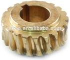 Hot sale precision CNC machining brass small mini worm gear