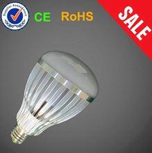 Cheap Dimmable 2300K 550 Lumen bubble ball bulb e27 new mold