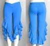 capri women's blue pants, women's pants