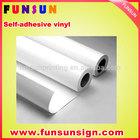 vehicle pvc vinyl /car wrapping vinyl sticker (120g/140g/160g ,high quality )