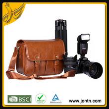 durable waterproof dslr leather camera bag with low price