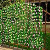 Wholesale outdoor decoration plastic artificial flowers vine,grape vine plant(AM-LY04)