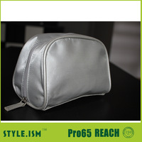 2014 hot sell Promotion travel cosmetic bag/ makeup cases Sponge satin wholesale