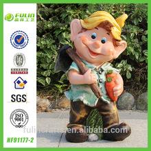 Hot Sale European Garden Gnome Cheap Resin Craft