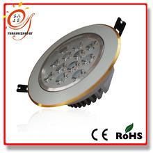 golden border hot sale 9w classic LED ceiling lamp/Light Die Casting Aluminum