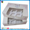 2014 customized house shape cupcake box sale