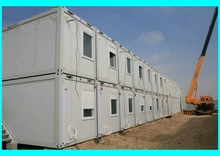 20ft china two-storey container house specially for workers camp