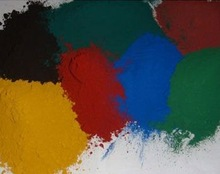 epoxy mica iron oxide paint synthetic pigment red yellow black green blue orange brown