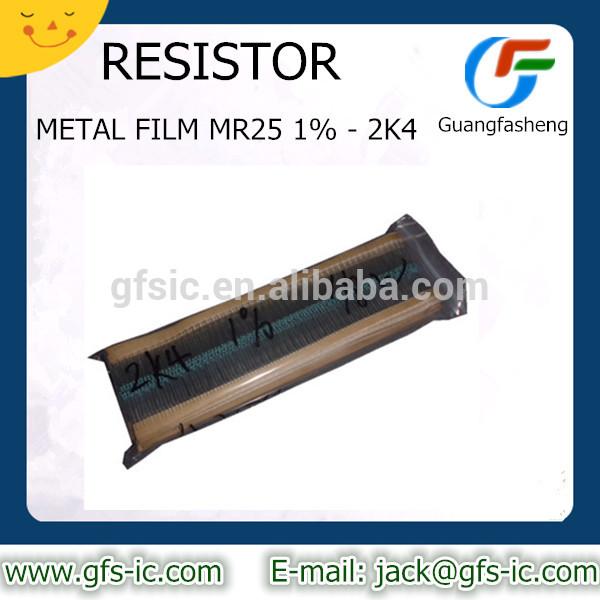 METAL FILM MR25 1% - 2K4 RESISTOR