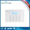 Wireless mini gsm alarm system with motion sensor gsm pstn dual network burglar alarm system