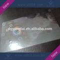 holograma estampado en caliente de aluminio transparente