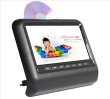High quality 9'' clip-on car dvd headrest