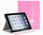 Cute Dandelion Folio Leather Case For Apple ipad mini Smart Cover Folio Stand Dandelion leathr cases covers