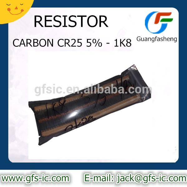CARBON CR25 5% - 1K8 RESISTOR