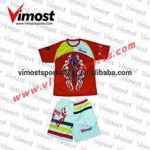 Custom soccer jersey long sleeve/keepershirt/goalkeeper and short