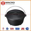 High quality Preseasoned cast iron camping dutch oven