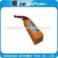 La batería del rc 11.1v 5200 mah pack de batería lipo