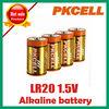 R20 D battery 1.5v from shenzhen alkaline batteries,battery product