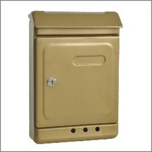 Die casting Aluminium letter box,Wall Mounted letterbox