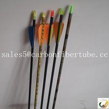 ccarbon fiber arrow, hunting feather arrow,bow and arrow
