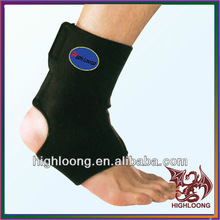 Black neoprene ankle brace ankle support ankle protection