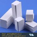 buena dureza blanco alúmina ladrillos de cerámica en cerámica