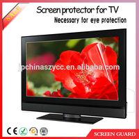 Ultra thin anti-fingerprint lcd tv screen protector film