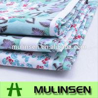 Mulinsen Textile 100% Cotton Floral Poplin Fabric For Making Dresses
