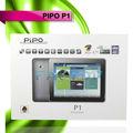 Tablet pc de alta resolução 2.0mp+8.0mp gps android 4.4 pipo p1 tablet pc