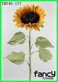 uzun sap yapay çiçek ipek ayçiçeği 32in iç dekorasyon