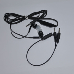 Headphone splitter novelty plastic in ear style earphone made in china and REACH certificate approved