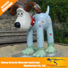 Dog statues outdoor amusement play ground life size