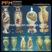 2014 hot sale natural stripe ceramic flower pots