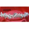 wedding bridal crystal pearl flower wedding headband
