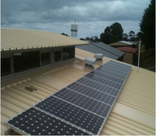 Solar power- pitched tin roof mounting system 3KW