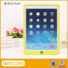 Various colorful silicone cover for ipad air 5th,for ipad 5 air smart case