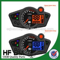 Electronic Motorcycle RX1N speedometer, two color backlight LCD Meter, Motorcycle digital meter, RX1N speedometer