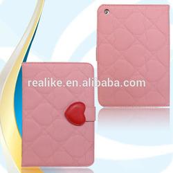 for ipad mini 7.9 inch auto wake / sleep smart cover leather case