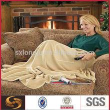 My TV blanket is reading ,TV time draft free foot pocket blanket