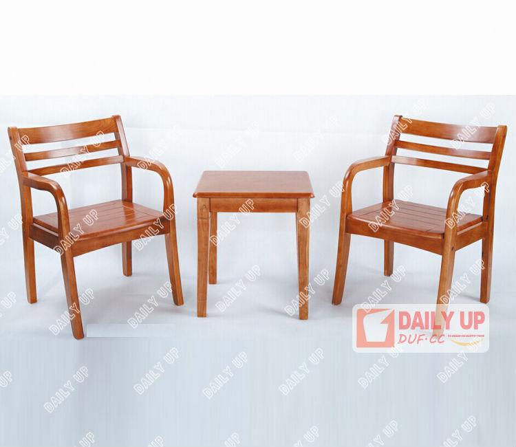 Canape En Bois Moderne : chaise de bureau avec rembourr? en bois Table de caf? chaise moderne