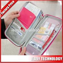 Fashion polyester travel organizer discount passport bag